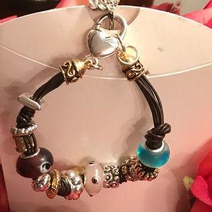 Multiple kind of charms bracelet